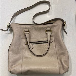EXCELLENT Coach Legacy Rory Satchel in Sand